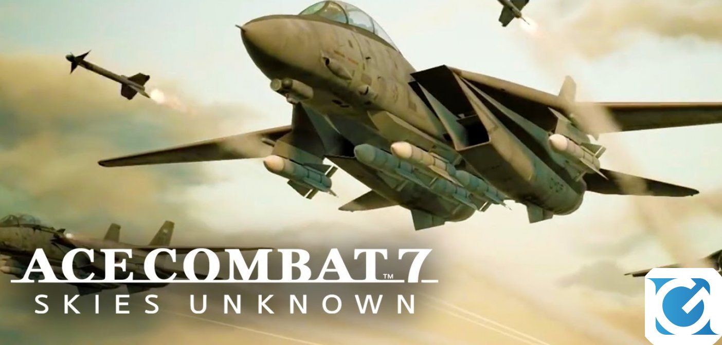 Annunciati i bonus pre-order di ACE COMBAT 7: Skies Unknown