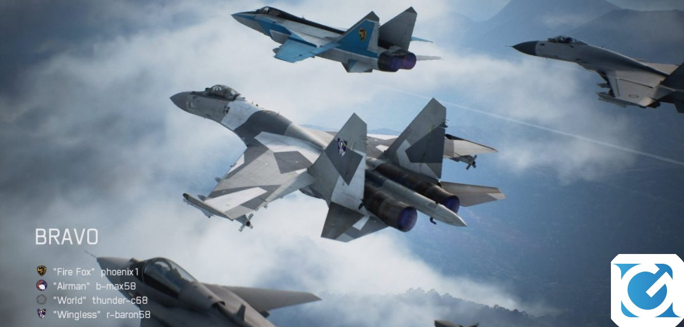 ACE COMBAT 7: SKIES UNKNOWN svela il multiplayer nel nuovo trailer