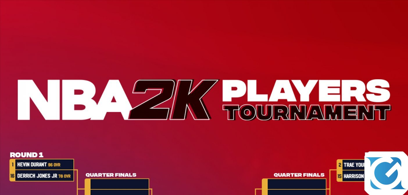 Al via l'NBA 2K Players Tournament, completamente online