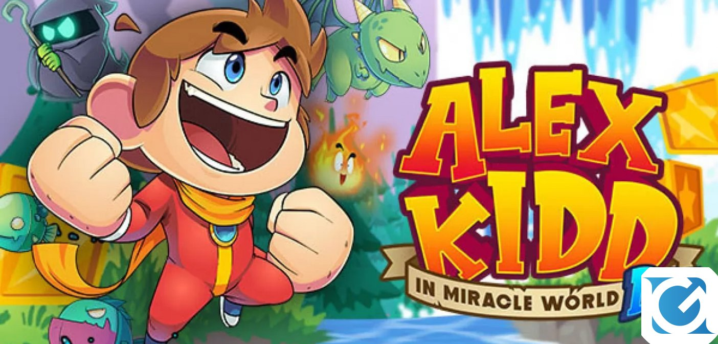 Alex Kidd in Miracle World DX arriva a giugno su PC e console