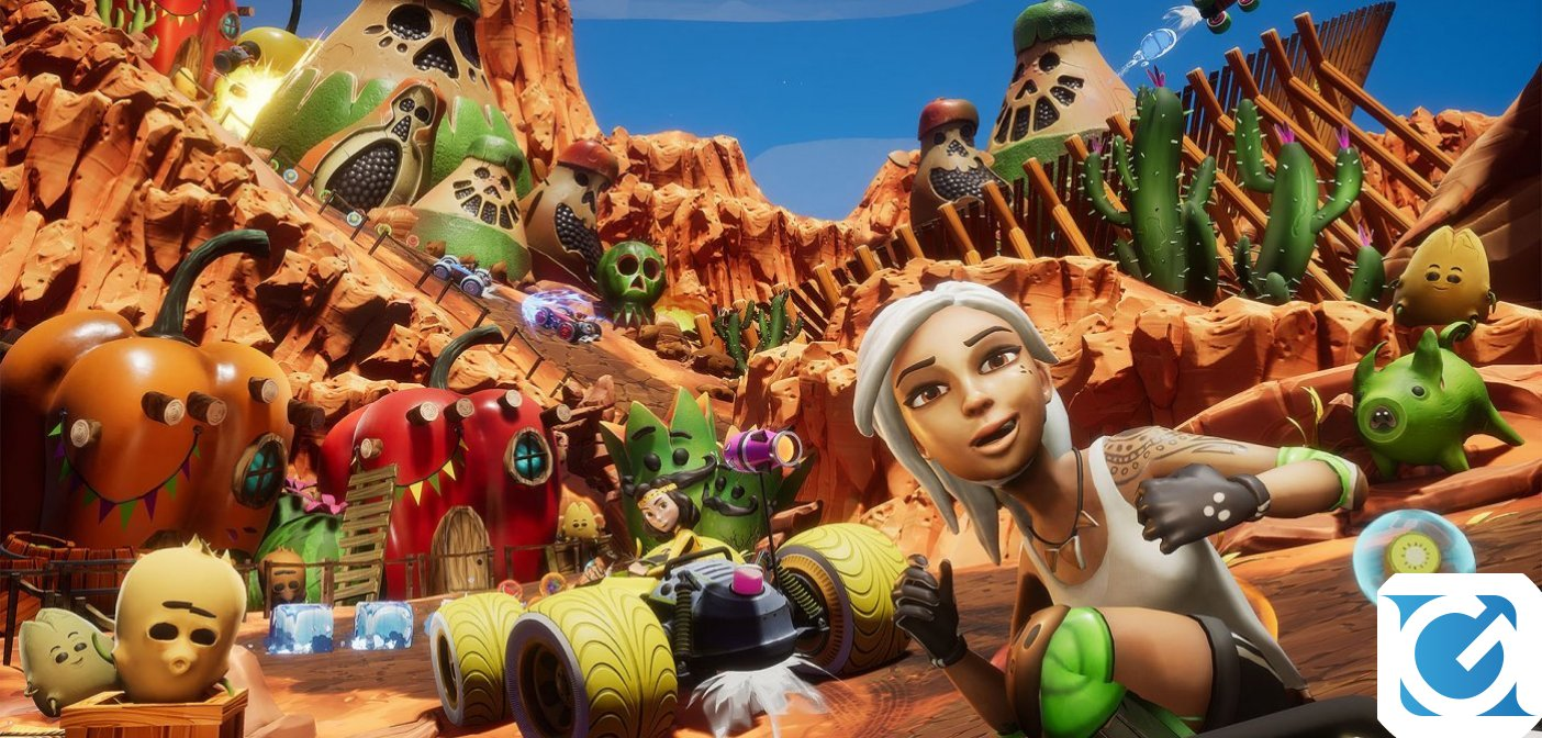 All-Star Fruit Racing in sconto Halloween su Steam