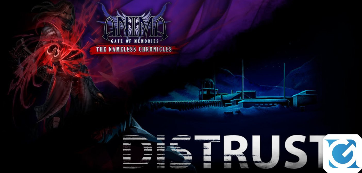 Distrust e Anima GOM:TNC sono disponibili in formato fisico su PS4