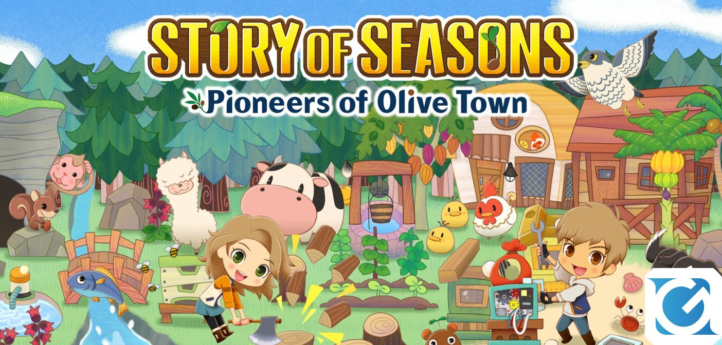 Annunciata la Deluxe Edition di STORY OF SEASONS: Pioneers of Olive Town