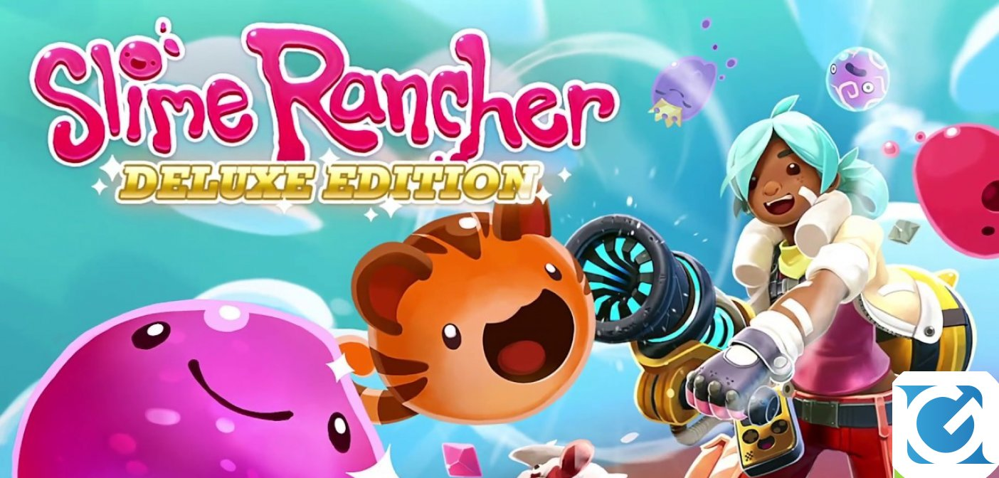 Annunciato Slime Rancher: Deluxe Edition per Xbox One e PlayStation 4
