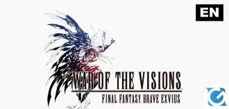 Aperte le pre-registrazioni per WAR OF THE VISIONS FINAL FANTASY BRAVE EXVIUS