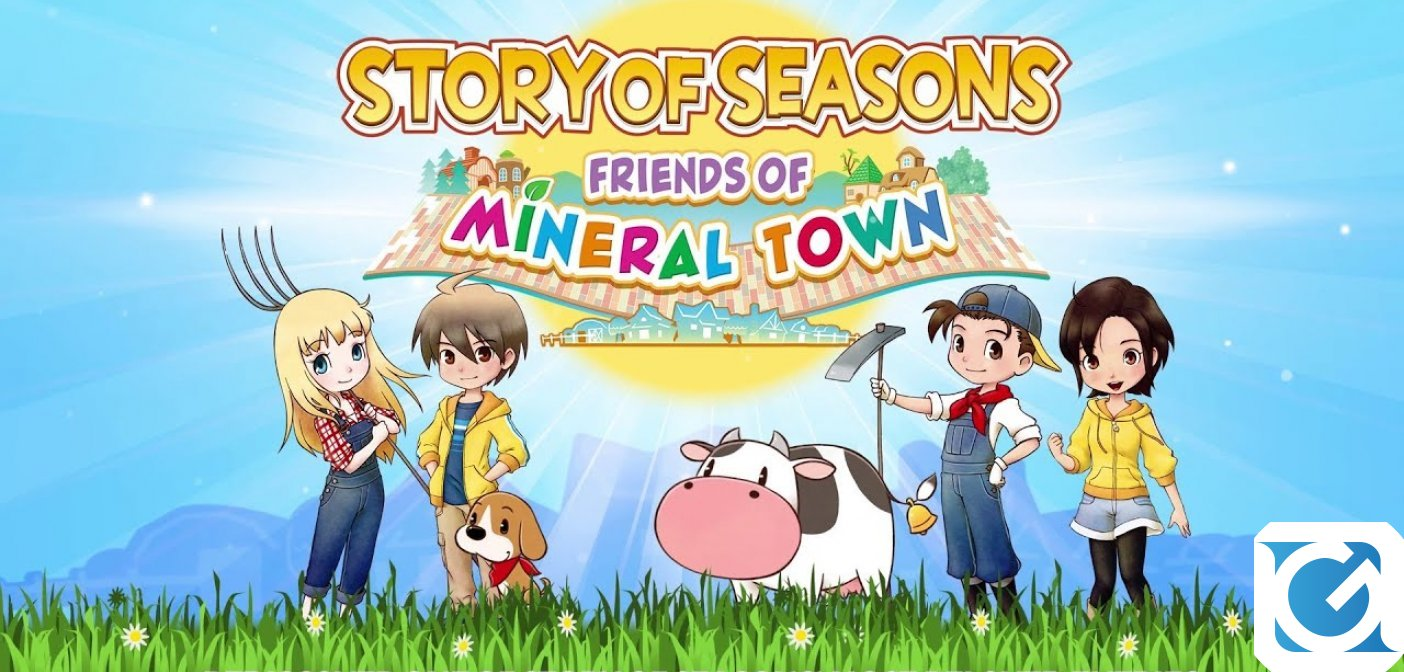 Aperti i pre-order di STORY OF SEASONS: Friends of Mineral Town per Switch