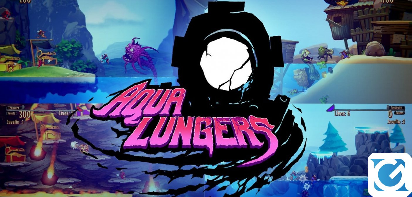 Aqua Lungers è disponibile in Nord America per Nintendo Switch