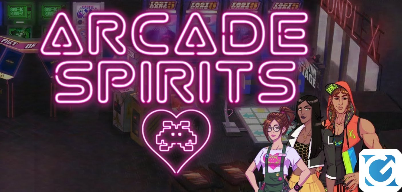Arcade Spirits è disponibile per XBOX One, PS4 e Switch