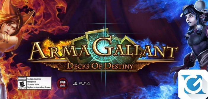 ArmaGallant: Decks of Destiny e' disponibile per Playstation 4