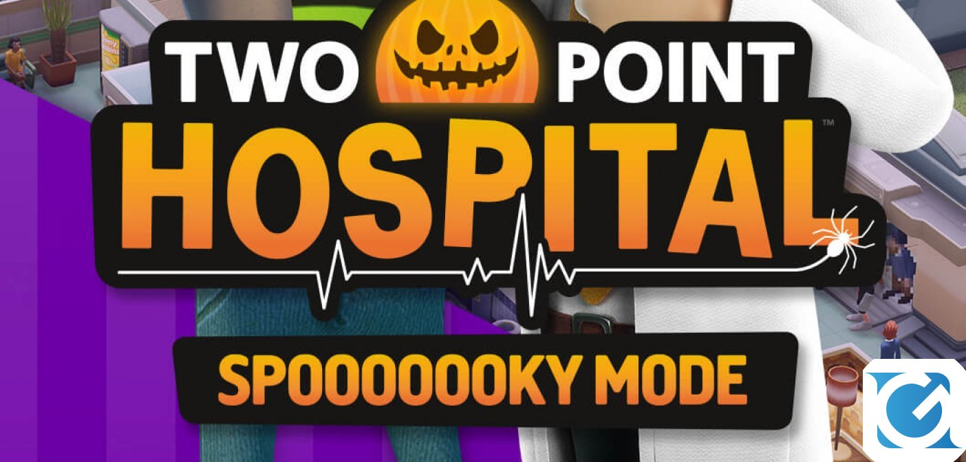 Arriva l'aggiornamento a tema Halloween per Two Point Hospital