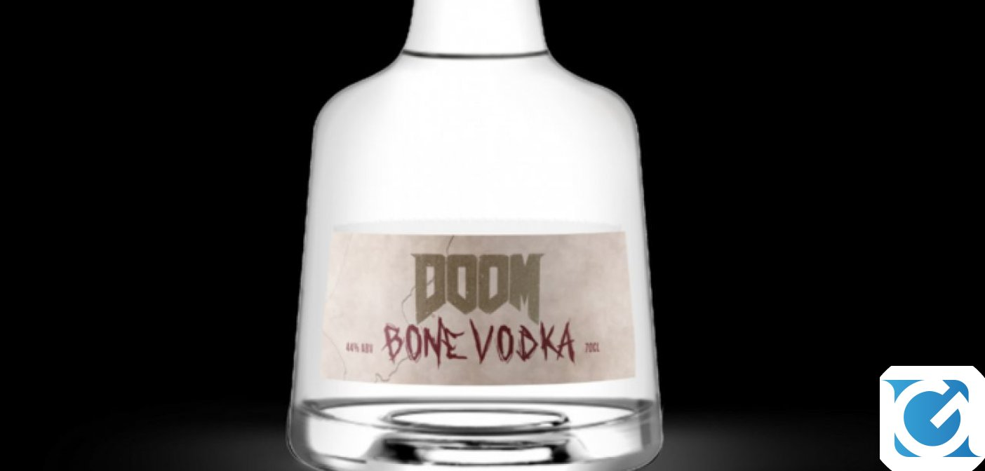 Arriva la Vodka di Doom: ecco la DOOM Bone Vodka