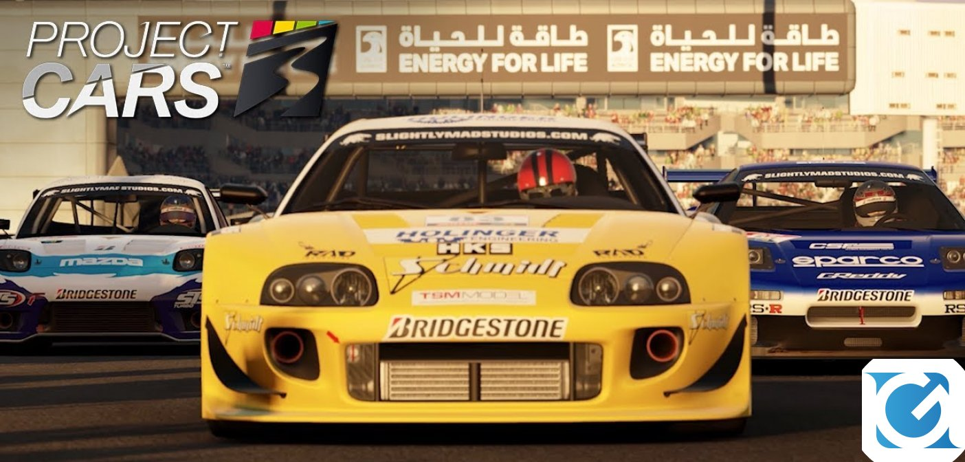 Arriva oggi il Legends Pack per Project Cars 3