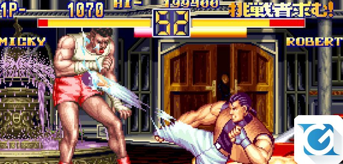 Art Of Fighting 2 arriva su Nintendo Switch