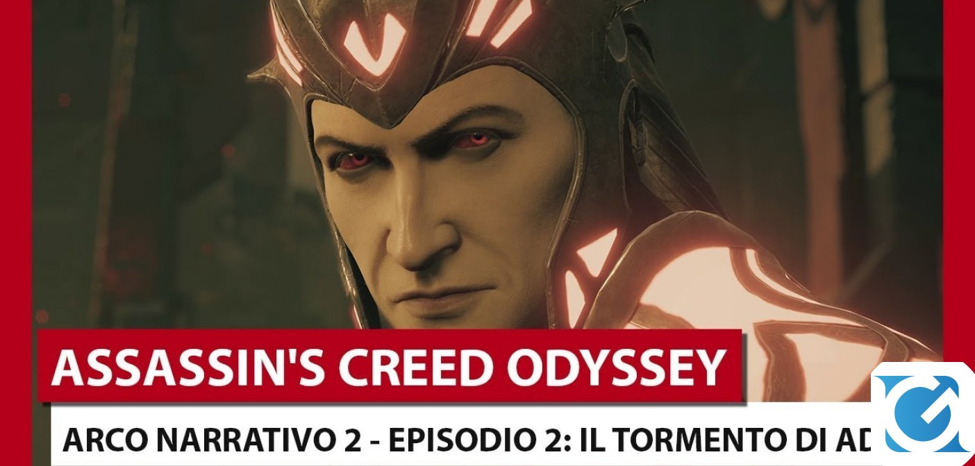 Il secondo episodio di Assassin's Creed Odyssey Destino di Atlantide è disponibile