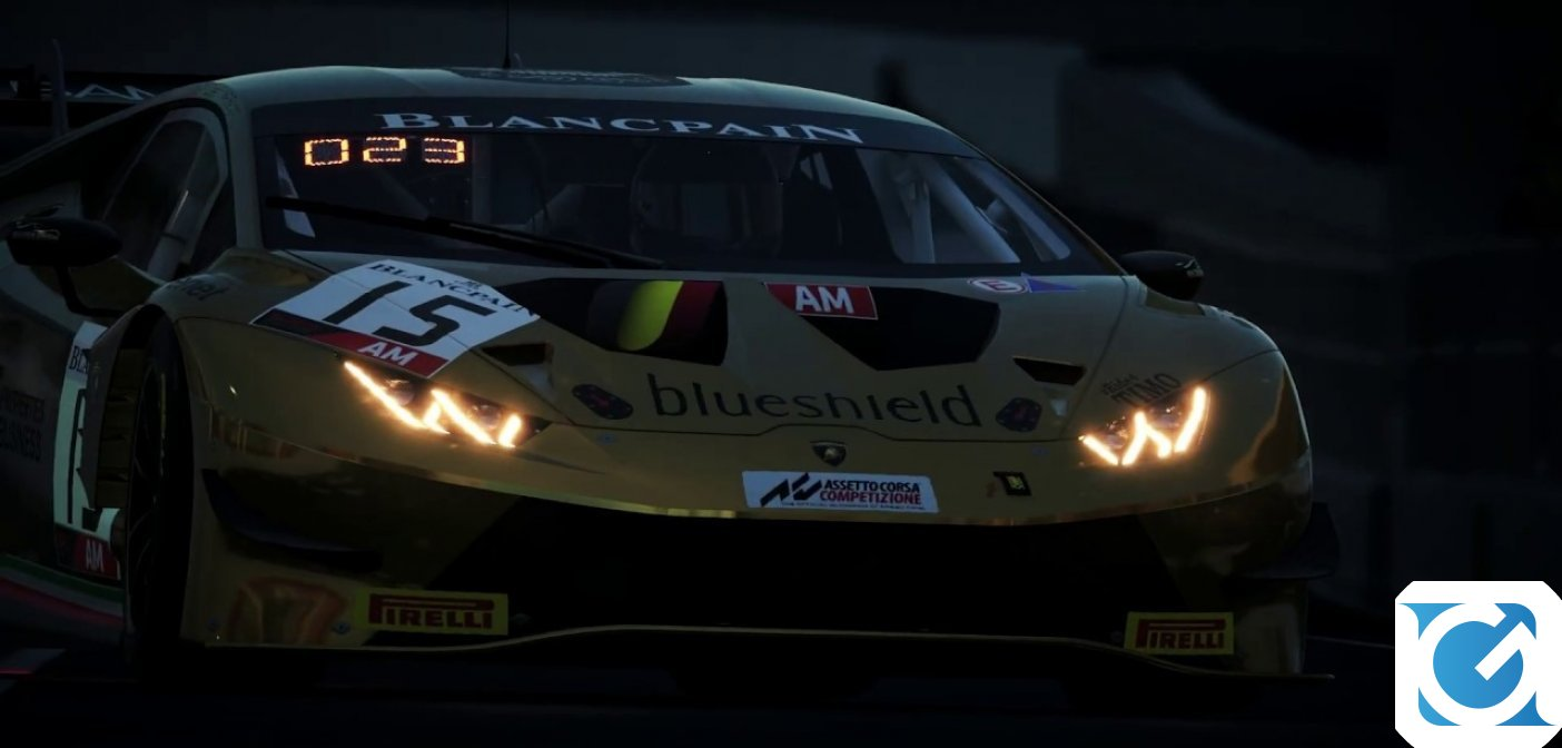 Assetto Corsa Competizione è disponibile su Playstation 4 e XBOX One