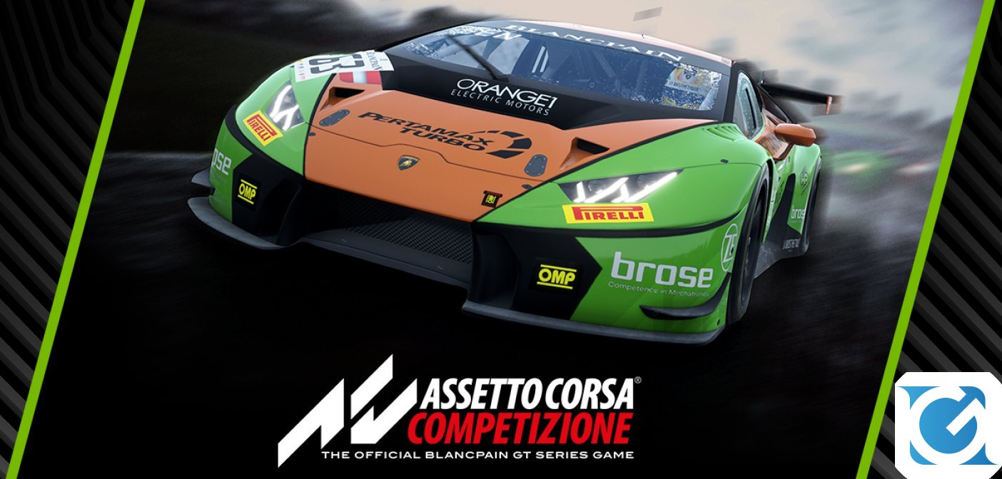 Disponibile la terza release di Early Access di Assetto Corsa Competizione