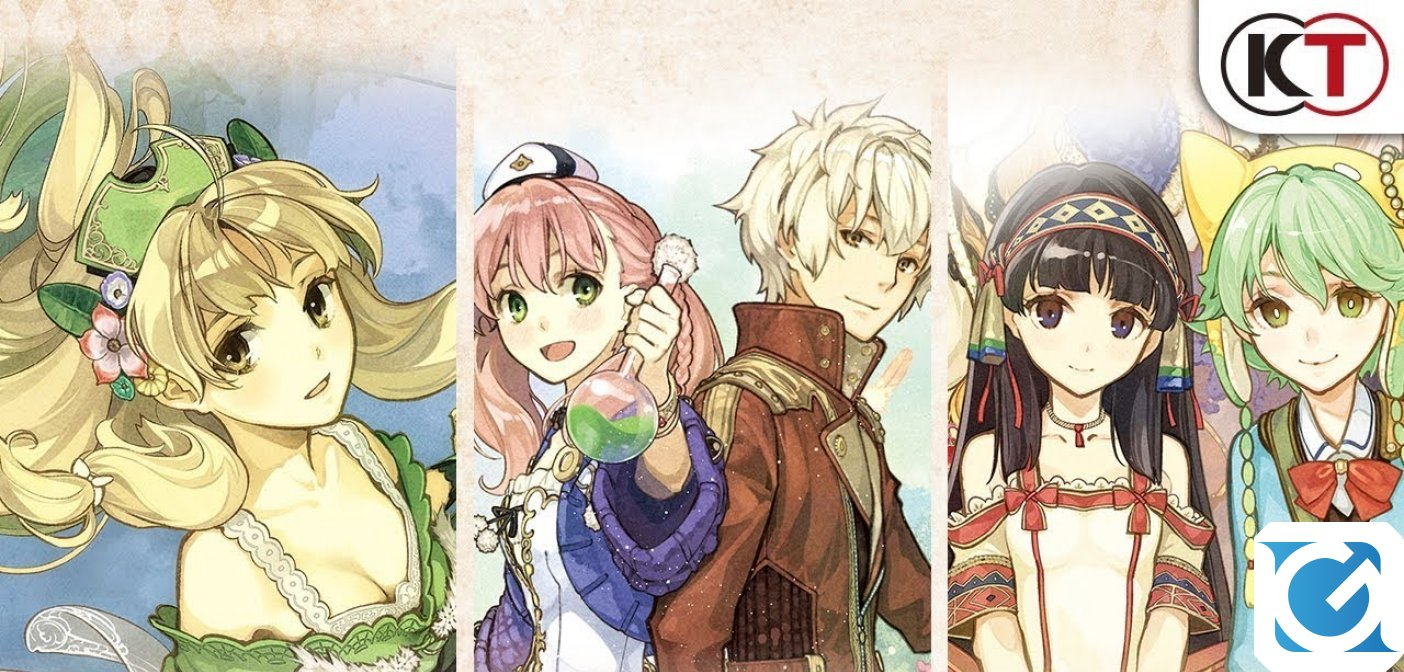 Atelier Dusk Trilogy Deluxe Pack arriva l'anno prossimo