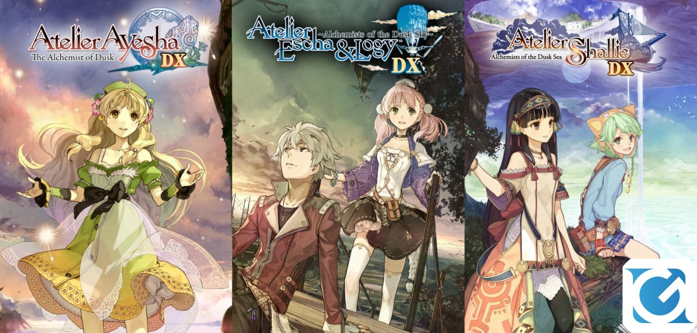 Atelier Dusk Trilogy Deluxe Pack è disponibile per Switch, PC e Playstation 4