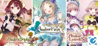 Atelier Mysterious Trilogy Deluxe Pack è disponibile su PC, PS4 e Switch