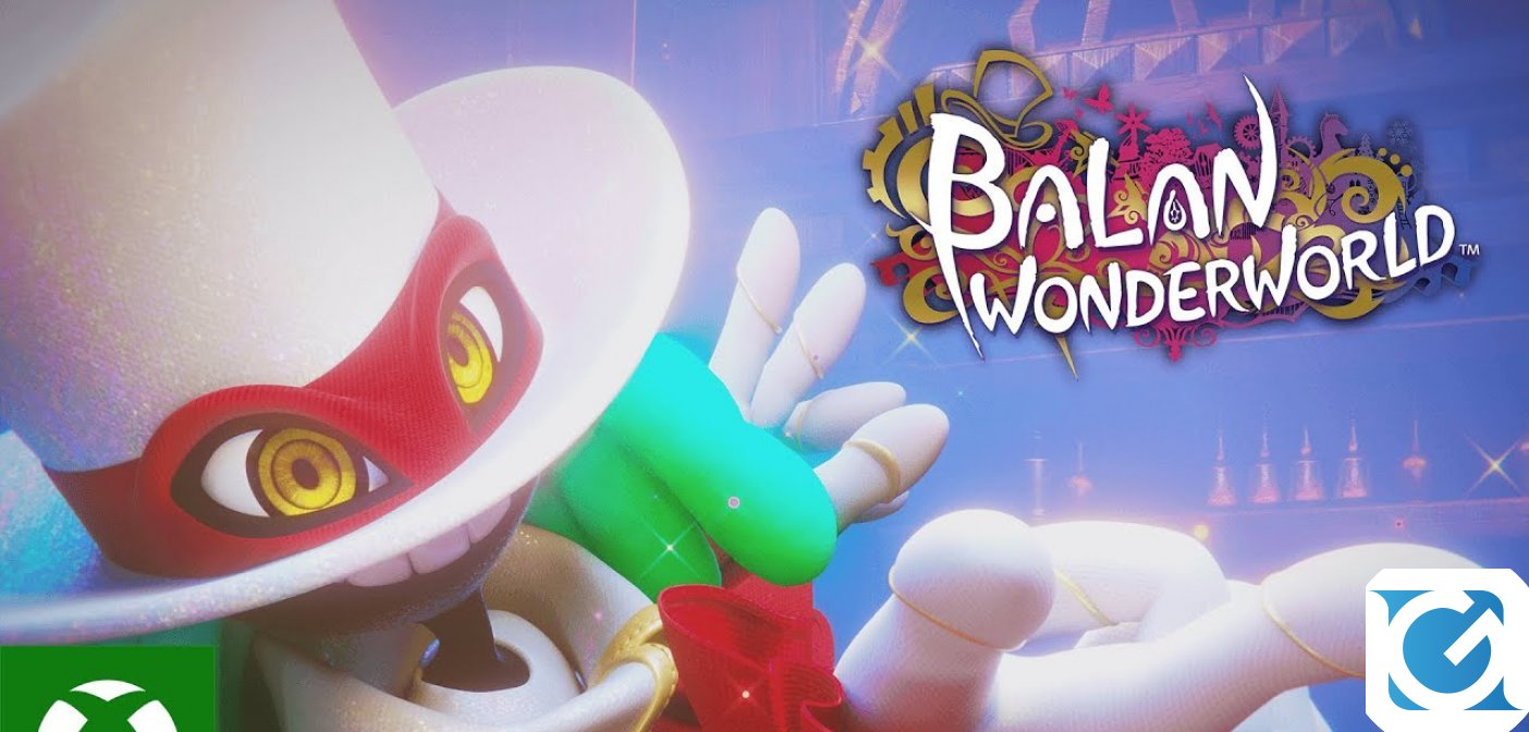Balan Wonderworld è disponibile