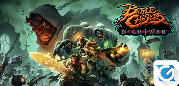 Battle Chasers: Nightwar e' disponibile su Nintendo Switch