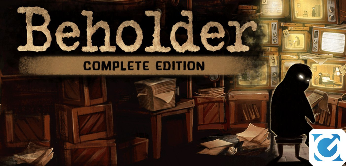 Beholder: Complete Edition è disponibile su Nintendo Switch