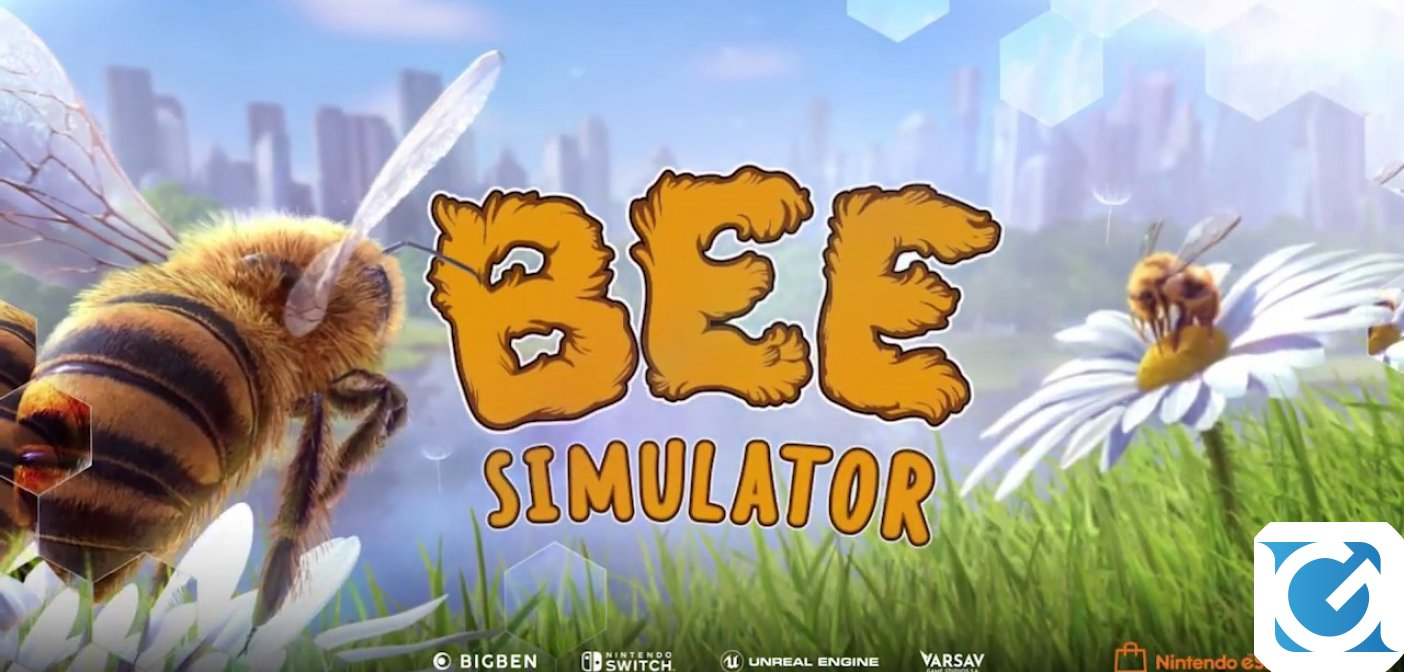 BIGBEN pubblica un nuovo video gameplay di Bee Simulator in occasione della Gamescom 2019
