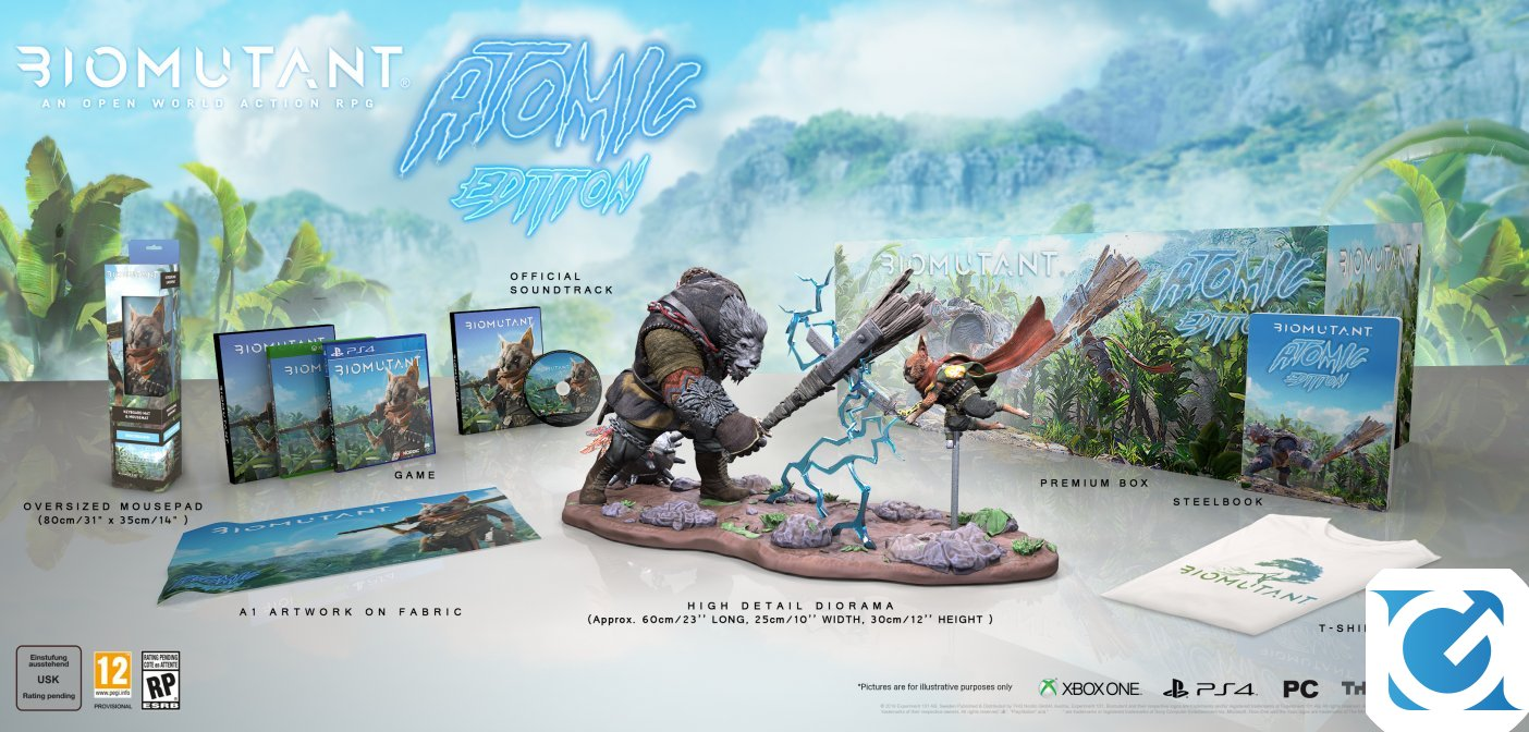 Annunciate le edizioni Atomic Edition e Collector's Edition di Biomutant