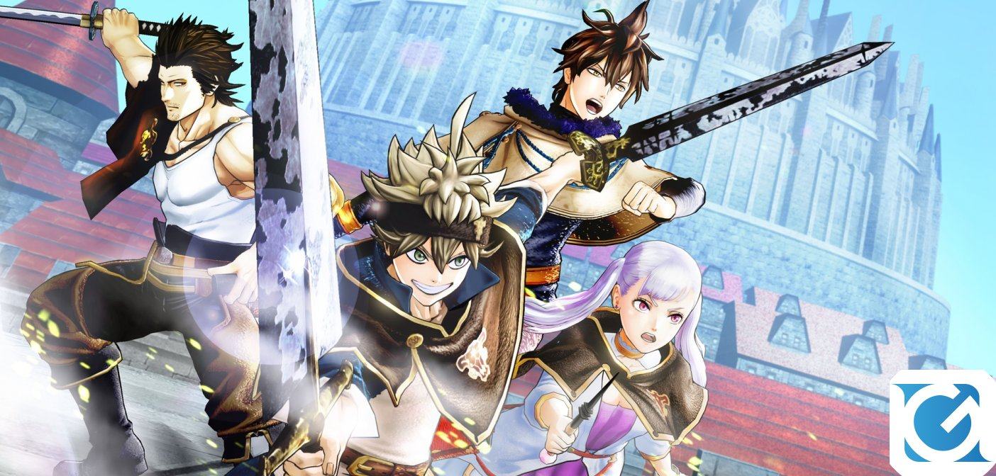 BLACK CLOVER QUARTET KNIGHTS e' disponibile per PS4 e PC
