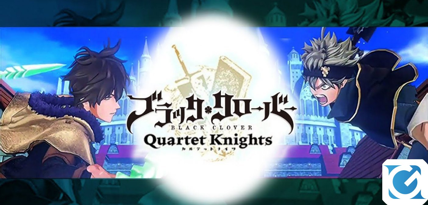 BLACK CLOVER QUARTET KNIGHTS : ecco le date della open beta