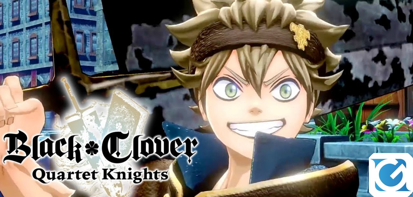 Disponibile la demo di BLACK CLOVER QUARTET KNIGHTS