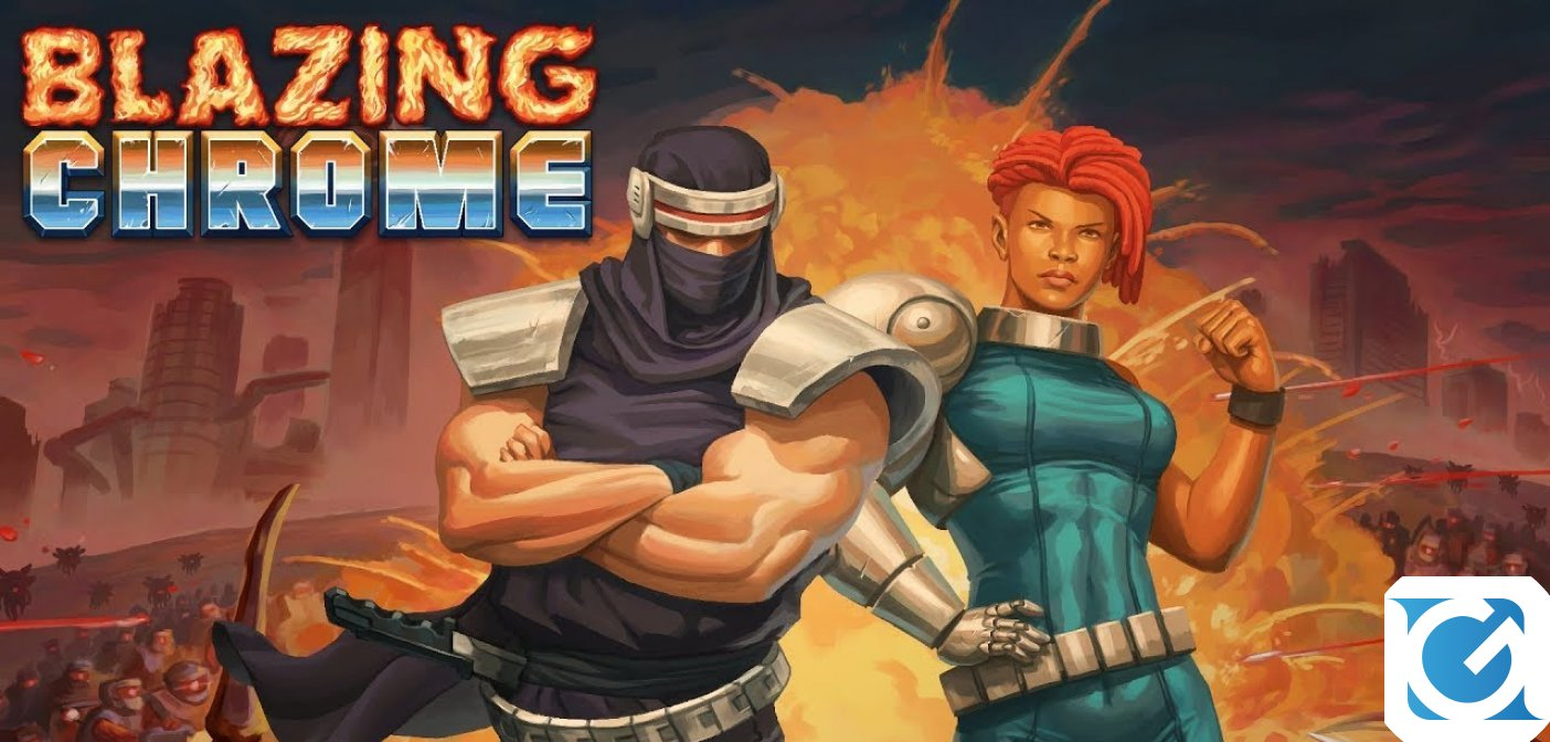 Blazing Chrome arriva su PC e console a luglio
