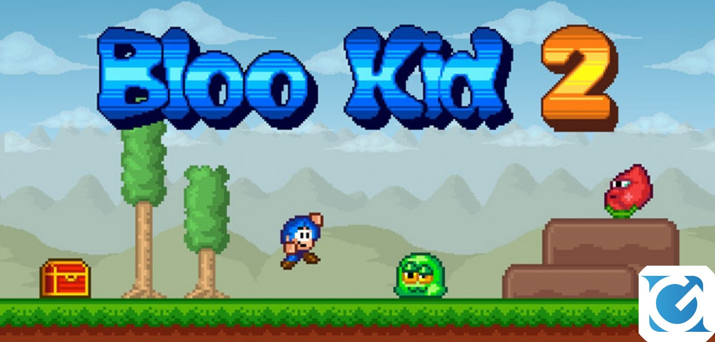 Bloo Kid 2 annunciato per Switch