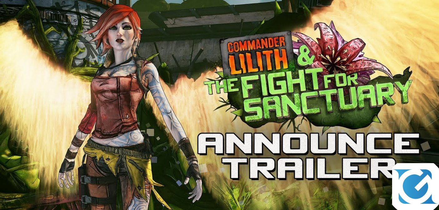 Commander Lilith & The Fight for Sanctuary è la nuova espansione di Borderlands 2