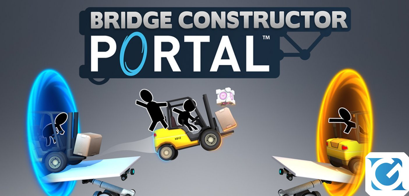 Bridge Constructor Portal guadagna il level editor su Steam