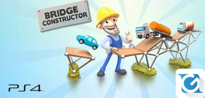 Bridge Constructor e' disponibile per PS Vita