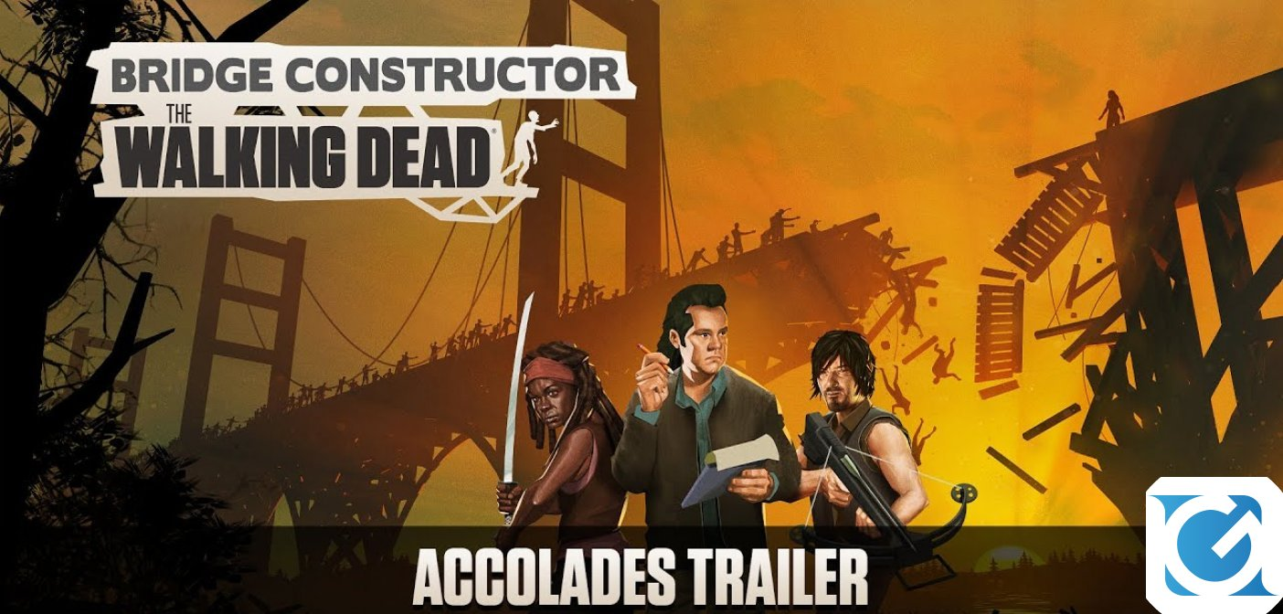 Bridge Constructor: The Walking Dead è disponibile su tutte le piattaforme