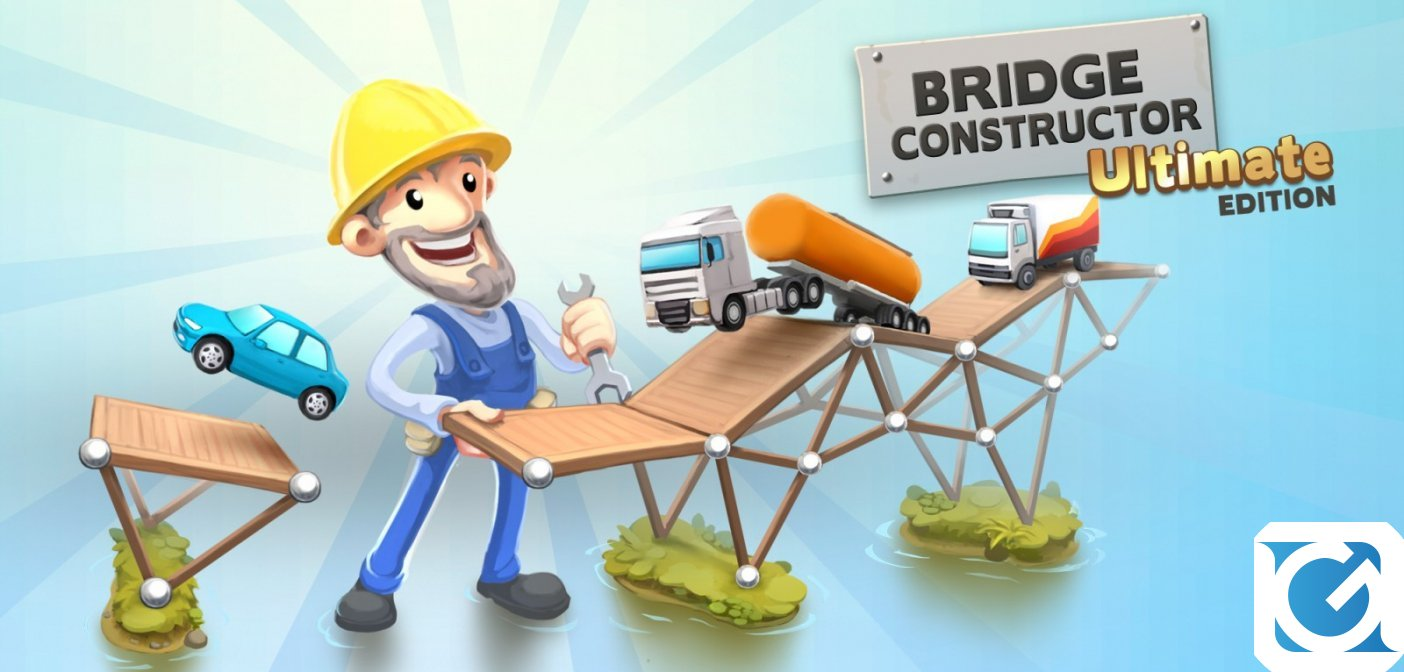 Bridge Constructor Ultimate Edition arriva su Nintendo Switch