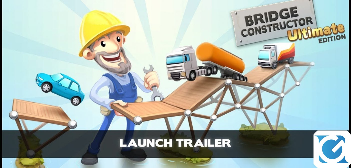 Bridge Constructor Ultimate Edition è disponibile per Switch