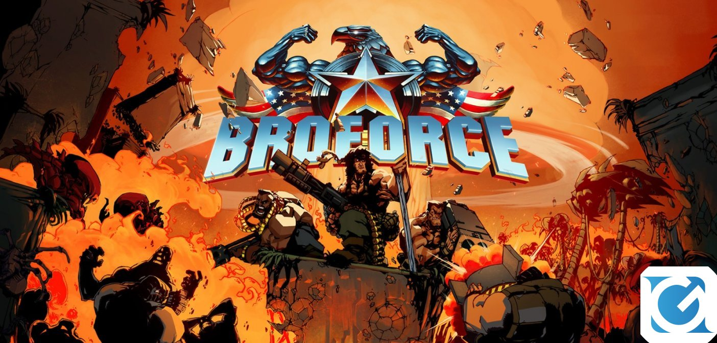 Broforce e' disponibile per Nintendo Switch