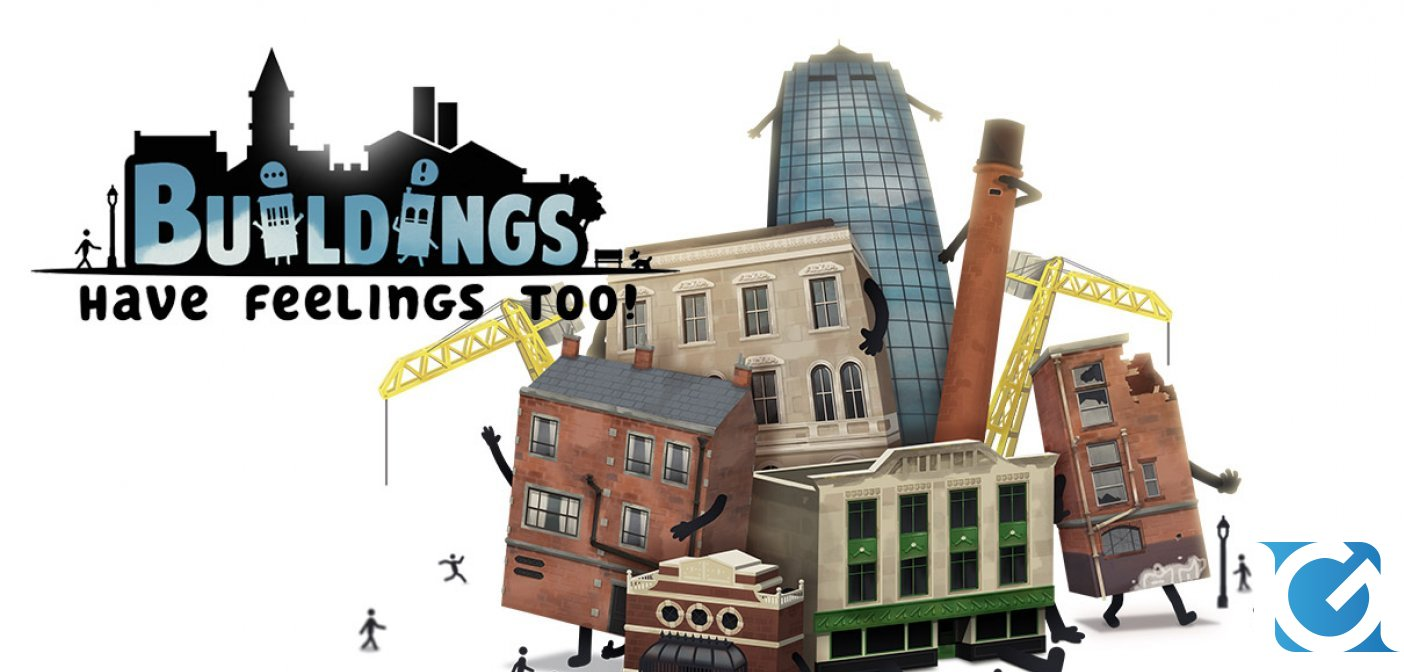 Buildings Have Feelings Too! annunciato per Nintendo Switch