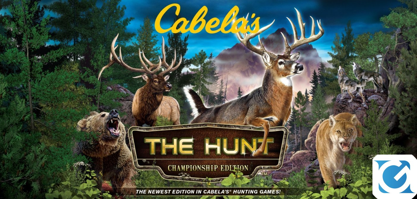 Cabela's The Hunt: Championship Edition e Bass Pro Shops The Strike: Championship Edition sono disponibili su Switch