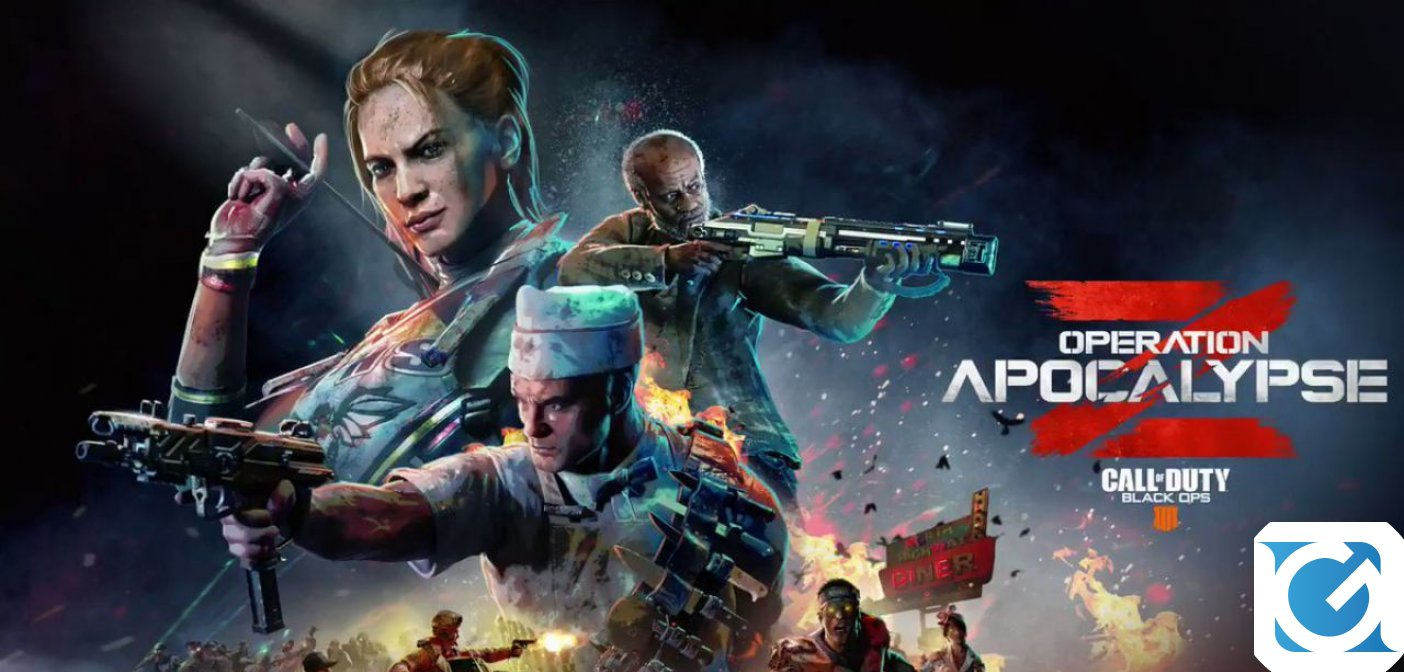 Call Of Duy Black Ops 4 si arricchisce con l'Operazione Apocalisse Z