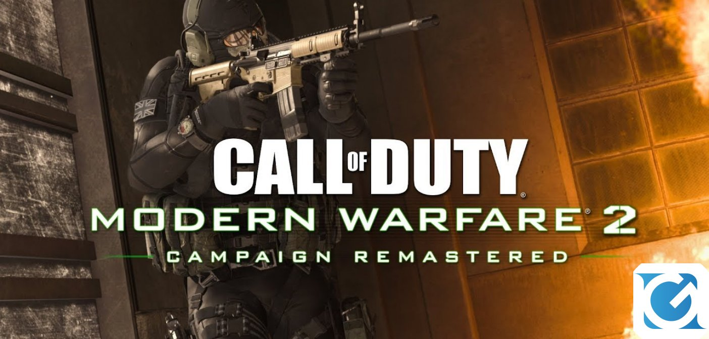 Call of Duty: Modern Warfare 2 Campaign Remastered è disponibile anche su XBOX One e PC