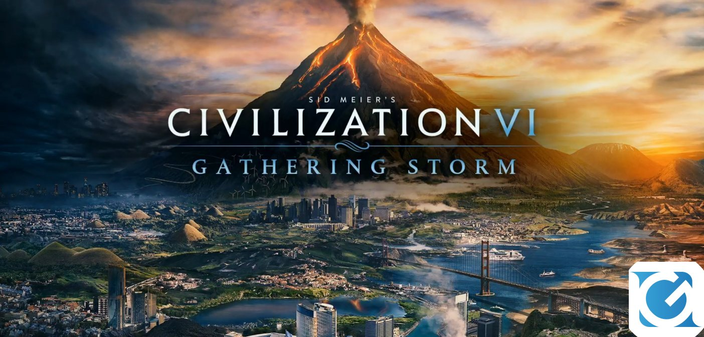 CIVILIZATION VI Gathering Storm è disponibile