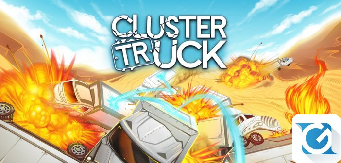 Clustertruck e' disponibile per Nintendo Switch