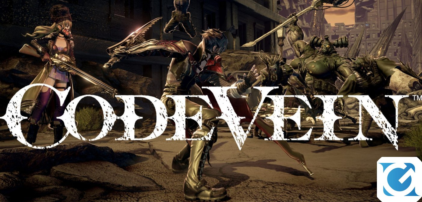 Annunciato il Closed Network Test per CODE VEIN