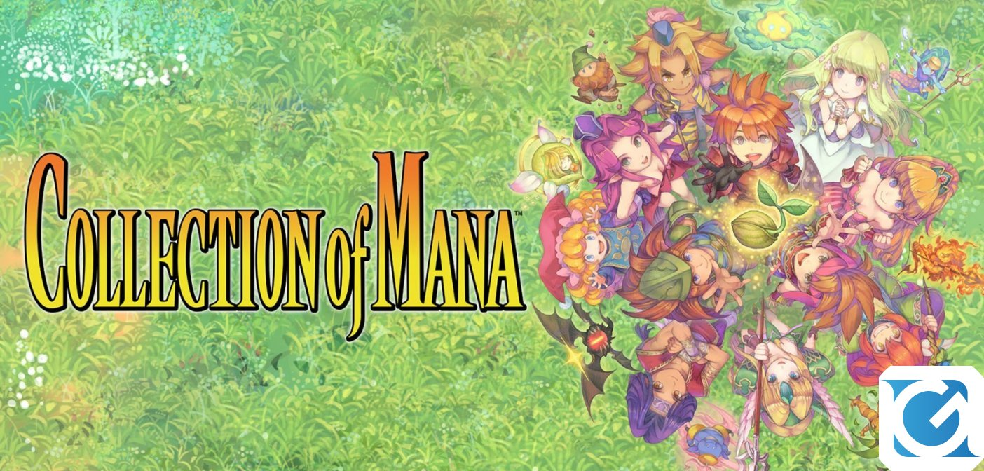 Collection of Mana è disponibile da oggi per Nintendo Switch