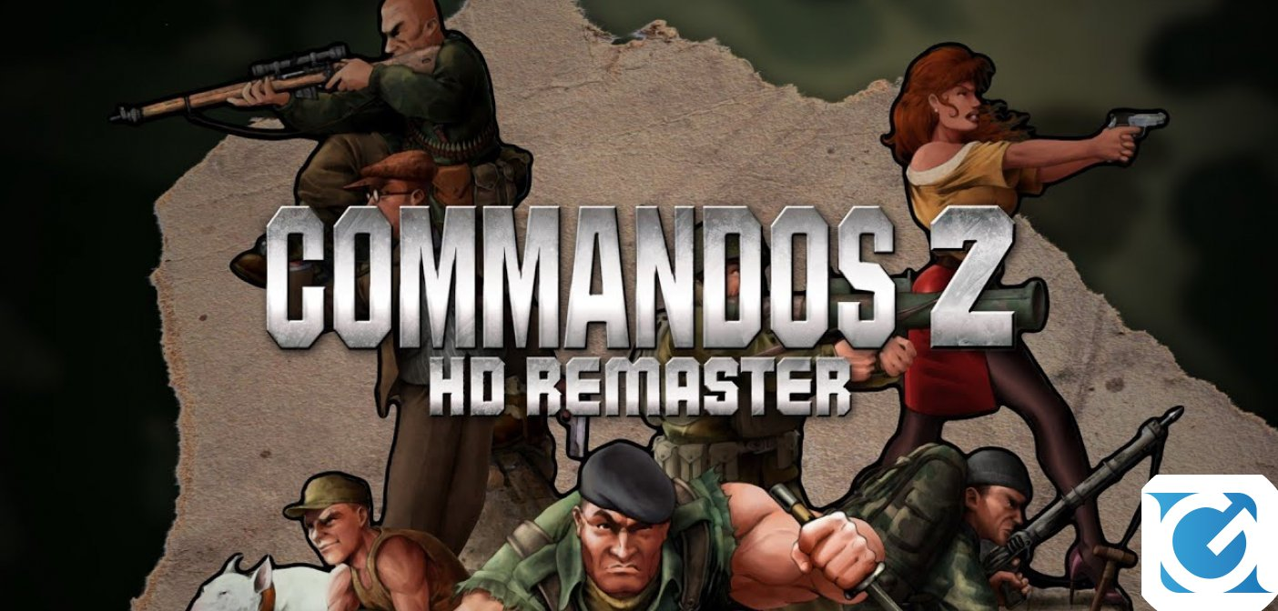 Commandos 2 HD Remaster è disponibile su Nintendo Switch