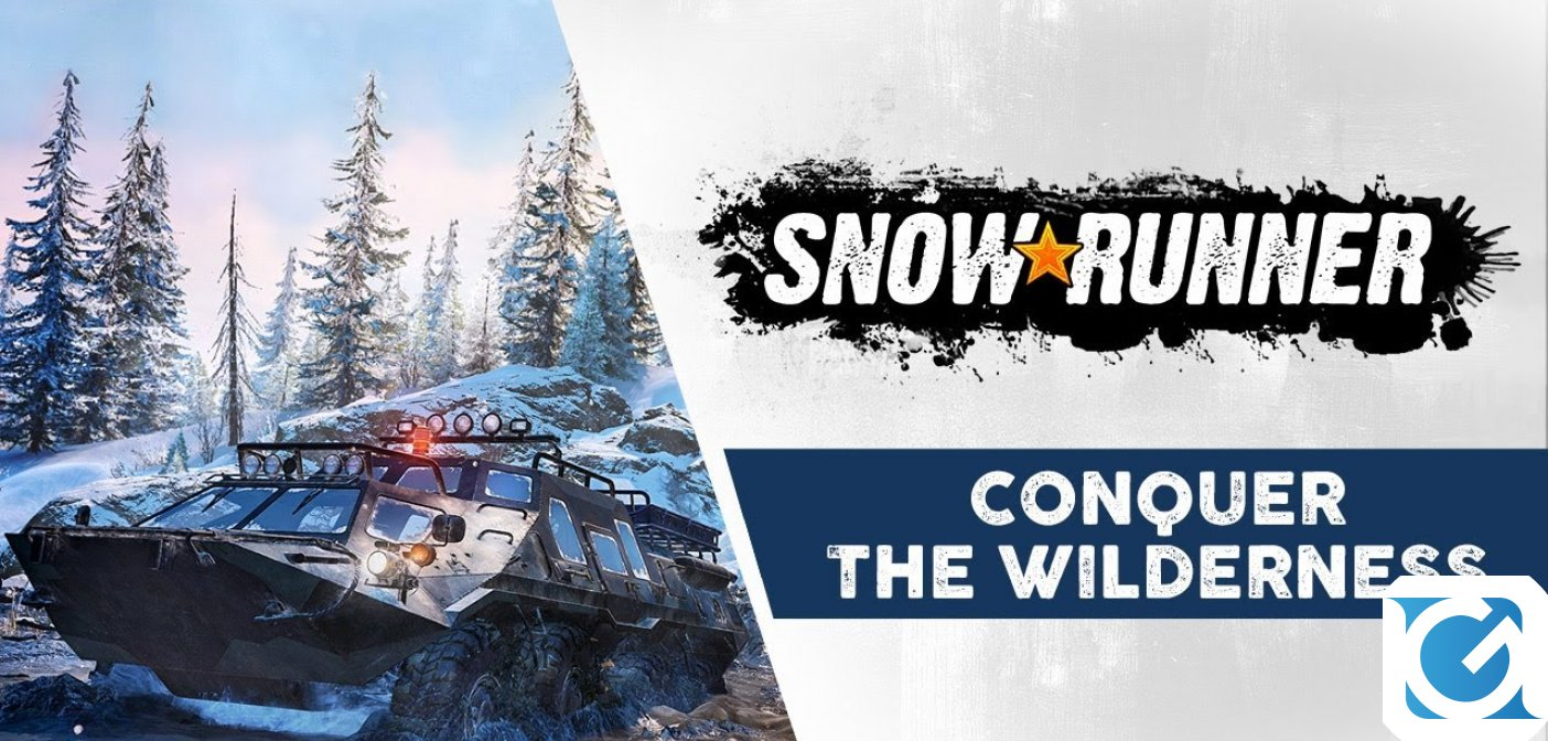 Conquer the Wilderness è il nuovo trailer per SnowRunner